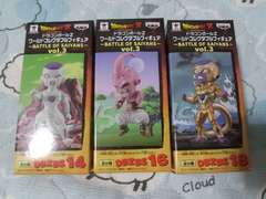 ドラゴンボール フリーザ 魔人ブウ コレクタブル ワーコレ BATTLE SAIYANS Vol.3