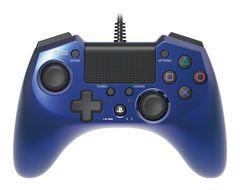 新品即決 ホリパッドFPSプラス for PS4 ブルー コントローラー 送料無料