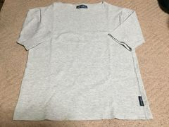 【SAINTJAMES 】バスクシャツ*グレー*M*セントジェームス
