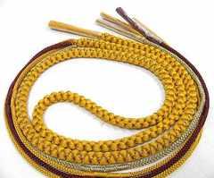 わけあり品 お振袖用 正絹帯締め 360 未使用品