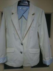 白ジャケットLサイズ