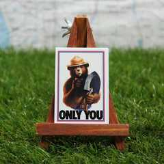 ★新品★【マグネット】Smokey Bear/スモーキーベア Only You