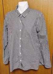 無地良品 ギンガムチェックシャツ Lサイズ