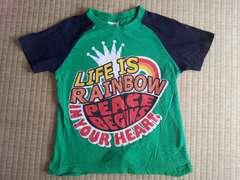 ラグラン半袖Tシャツ 120