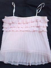 綺麗なピンクに3段フリルが超ロリッ可愛い チア系ロリータ キャミソール