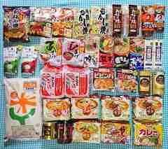 送料¥500【食品まとめ売り】お米5kg&インスタントラーメンなどセット★