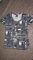 【Roen】総柄Tシャツ