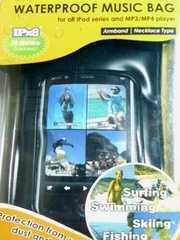 防水ケース (防水イヤフォン・アームベルト付属) iPod/iPhone対応◆定形外OK
