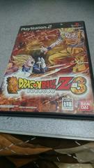 PS2!箱説あり!ドラゴンボールZ3!のソフト!