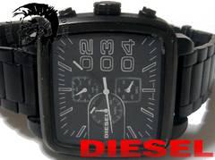 【超大型】1スタ★DIESEL ディーゼル クロノグラフ 大型腕時計