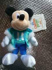 ディズニーランドクリスマス2010ミッキーぬいば新品