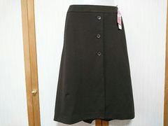 ♪新品タグ付♪技ありスカート!すっきり脚長!コゲチャ67-93