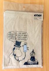 ムーミンパパとミイのラッピング袋