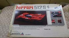 ユニオン 1/24  フェラーリ 512S Daytona Type