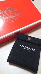 COACH☆コーチ☆激レア!トラベル時計☆アラーム機能付き