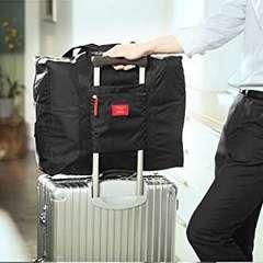 軽量&防水 旅行 出張 便利 大容量 折りたたみバッグ