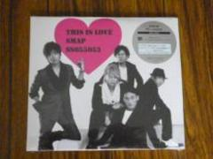 SMAP、This is love初回限定盤(SS version)