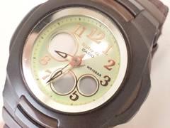5661/CASIOカシオ★Baby-G男女兼用モデル蛍光グリーンCOLORダイヤル
