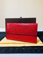 1円 ◆正規品◆ 極美品 ルイヴィトン エピ レザー 長財布