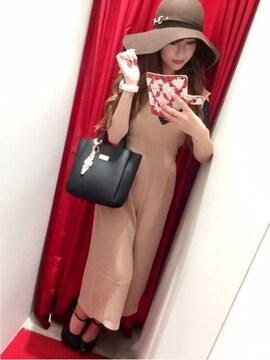 今季完売★ダチュラ★ディープVガウチョオールインワン キャメル/F 新品タグ付 未開封