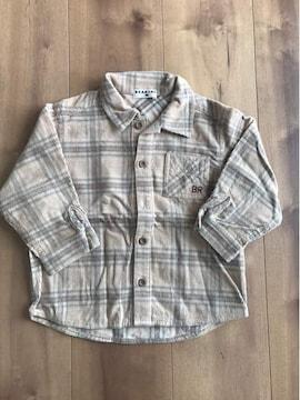 BRANSHES チェックシャツ