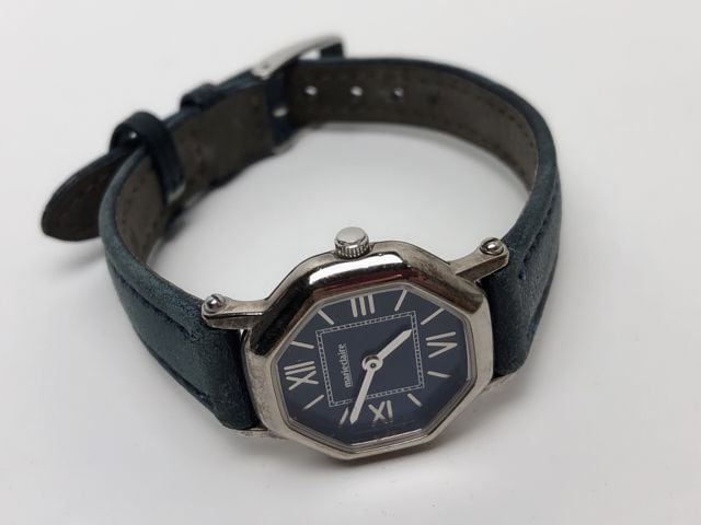 T127 ★ マリクレール レディース 腕時計 電池交換済み < ブランドの