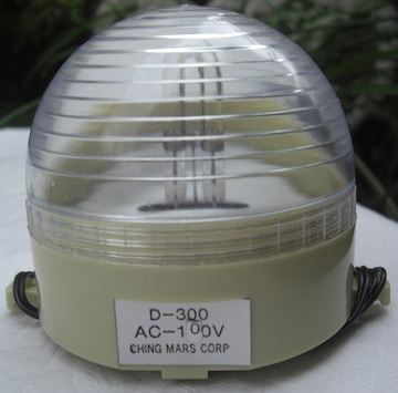 CHING MARS DISCO FLASHLIGHT/D-300未使用品0610