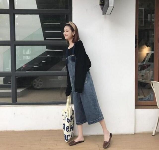 新品!レディースサロペット 森ガール デニム  S~XL/AK220 < 女性ファッションの