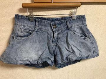 ★Frapper バルーン裾×デニムショーパン  W61★