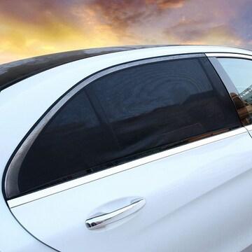 車 サイド サンシェード 2枚 自動車 窓 虫除け //bxw