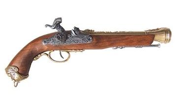 DENIX デニックス 1104/L イタリアン フリントロック レプリカ 銃 モデルガン