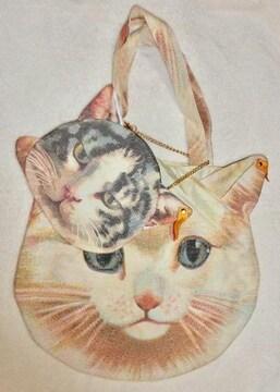 あちゃちゃむ☆猫☆ネコ☆バッグ☆ポーチ