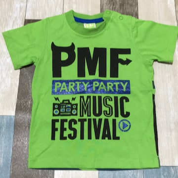 ∂+/PARTY PARTY プリントTシャツ 90 Backプリ