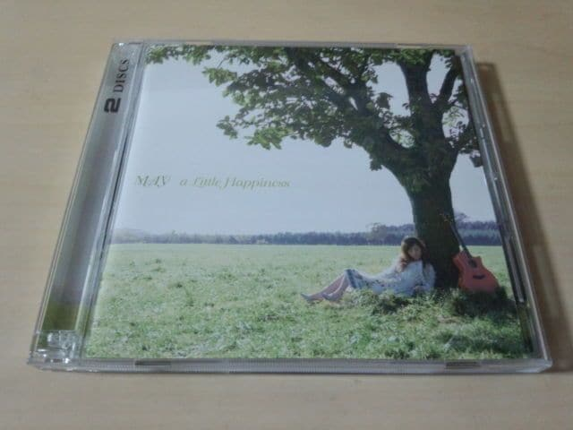 MAY CD「a Little Happiness」韓国 亀田誠治 ELT DVD付初回盤●  < タレントグッズの