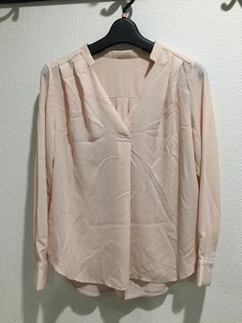 新品タグ付 VIS ビス 長袖 シャツ トップス ブラウス ピンク