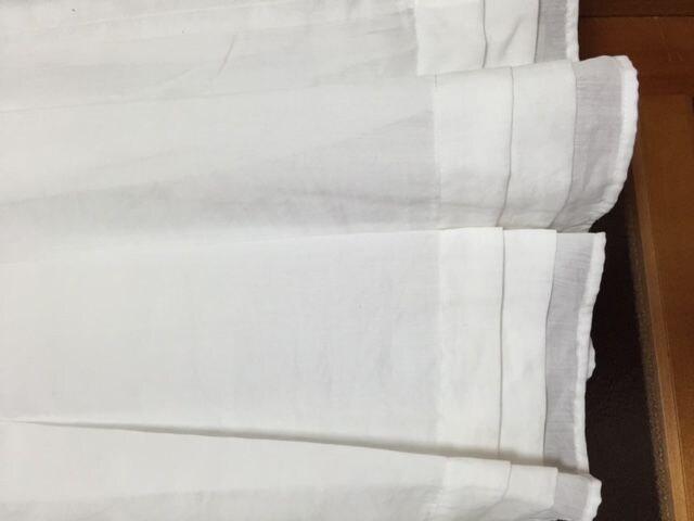 美品 ジャイロホワイト 白 スカート お嬢様 リボン < ブランドの