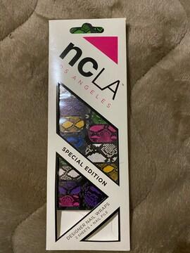 ncLAのネイルシール