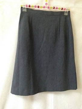 SEPIA セピア★美品★シンプル グレー 台形 スカート