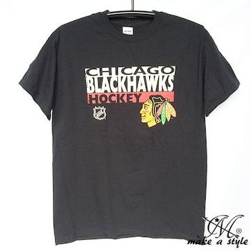 訳あり品 シカゴ NHLブラックホークス Tシャツ 半袖 567M