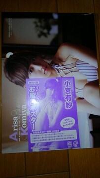 小宮有紗&RaMu リバーシブル お風呂ポスター