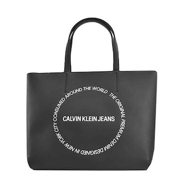 ◆新品本物◆カルバンクラインジーンズ トートバック(BK)『K60K606148』◆