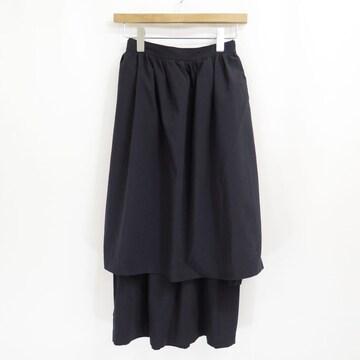1988 コムデギャルソン ウール レイヤード ロング スカート ビンテージ 80s