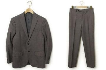 ☆ユナイテッドアローズ セットアップ スーツ/44(S)メンズ☆グレー