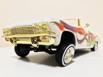 HW/'65 Chevyシボレー Impalaインパラ ローライダー 1/18