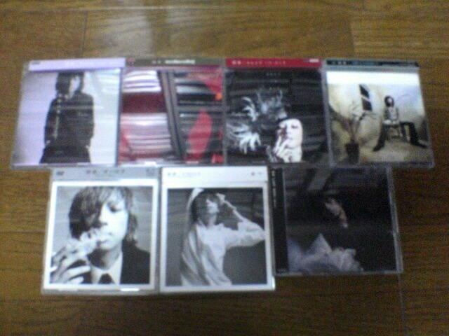 清春CDS+DVD7枚セット  < タレントグッズの
