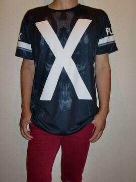 送料無料☆JXOS☆PUNK-X-Tシャツ☆L