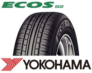 ★165/55R14 緊急入荷★ヨコハマ ECOS ES31 新品タイヤ 4本セット