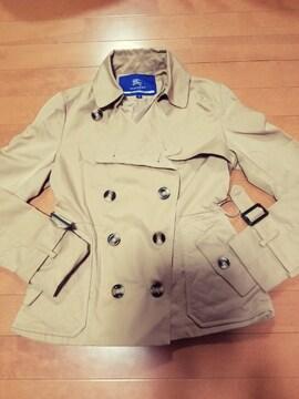 ◆BURBERRYBLUE LABEL◆ショートトレンチジャケットコート◆