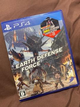 新品 地球防衛軍 アイアンレイン EDF IR PS4