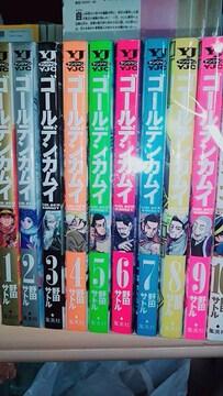 【送料無料】ゴールデンカムイ 10巻セット